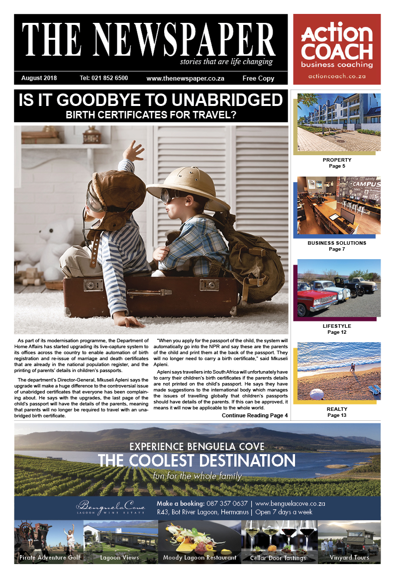 The Newspaper - 56th Edition